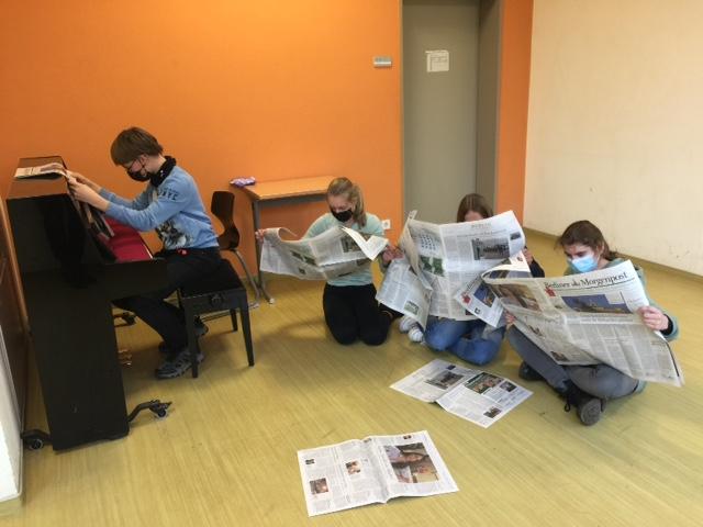Zeitungsprojekt mit der Berliner Morgenpost